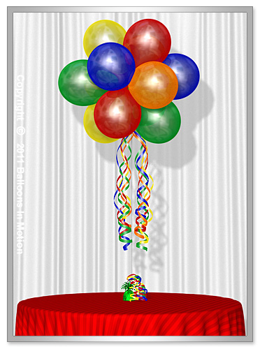 Chicago balloon delivery chicago illinois balloon for Balloon decoration chicago